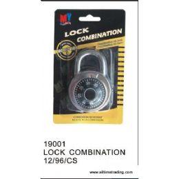 96 Units of SECURITY LOCK COMBINATION - Padlocks and Combination Locks