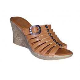 24 Units of Lady Seven Strap Wedge - Women's Sandals