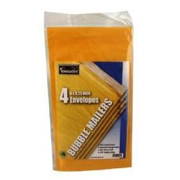 24 Units of Bubble Mailers - 6 x 9.25 - 4 pack - Wrapped - Envelopes