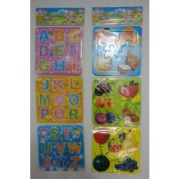 144 Units of Set of 3 Child's Educational Puzzle - Puzzles