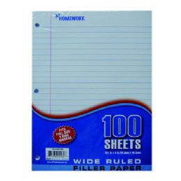 36 Units of Filler Paper - 100 Sh - 10.5 X 8 WR - Paper