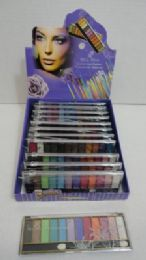 48 Units of 12 Color Eye Shadow - Eye Shadow & Mascara