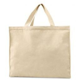 96 Units of 100% Cotton Canvas Tote - Tote Bags & Slings