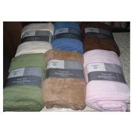 16 Units of Assorted Full Size Super Soft Microplush Blanket - Fleece & Sherpa Blankets