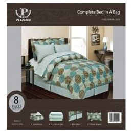 24 Units of 8 Piece Full/Queen Size Bedding - Bed Sheet Sets