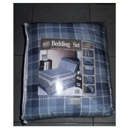 4 Units of 8 Piece Twin Size Bedding in a Bag - Bed Sheet Sets