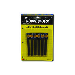 48 Units of Mechanical Pencil Leads - 6 PK x 12/pk - (0.9HB) - Pencils