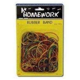 48 Units of Rubber Bands- 100gm - bag - Asst. Colors - Rubber Bands