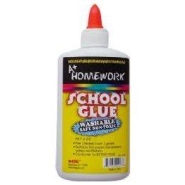 36 Units of School Glue - White - Washable - 8.0 oz each - Glue Office and School