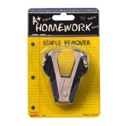 48 Units of Staple Remover - 1 Pack - Standard Design - Staples and Staplers