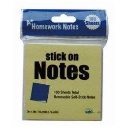 48 Units of Stick On Notes 3x3 100 Sheet - Sticky Note & Notepads