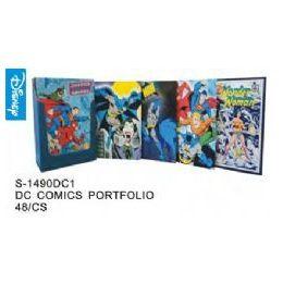 96 Units of DC Comics Folders - Licensed School Supplies