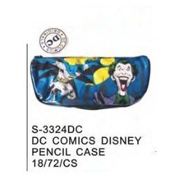 72 Units of DC Comics Pencil Case - Licensed School Supplies