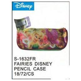 72 Units of Fairies Pencil Case - Licensed School Supplies