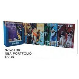 48 Units of NBA Folders - Licensed School Supplies