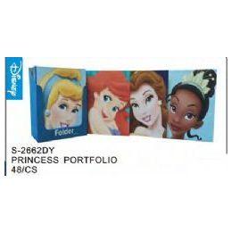 48 Units of Princess Folders - Licensed School Supplies