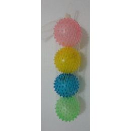 72 Units of 4pk Soft Balls-Solid Color - Balls