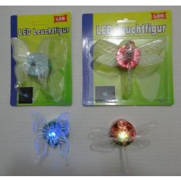 96 Units of Butterfly/dragonfly Led Light - Girls Toys