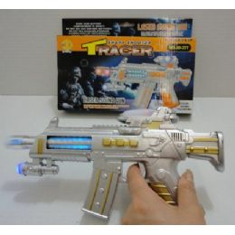 120 Units of Sharp Shooter Tracer Laser Sound Gun - Toy Weapons