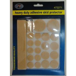 72 Units of 27pc Heavy Duty Adhesive Skid Protector - Home Accessories