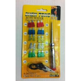 24 Units of Auto Fuse with Tester - Auto Maintenance