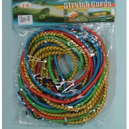 "24 Units of 8pcs 36"" Bungee Cord - Rope and Twine"