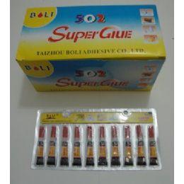 80 Units of 10pk Super Glue - Glue Office and School
