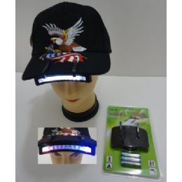 240 Units of 11LED Cap Light with batteries - Baseball Caps & Snap Backs