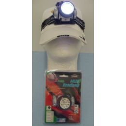 120 Units of 14 LED Head Lamp - Lamps and Lanterns