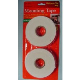 "48 Units of 2pc Mounting Tape-9'x3/4"" - Tape"