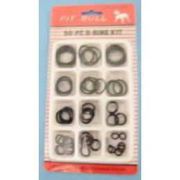 24 Units of 50pcs O-Ring - Plumbing Supplies