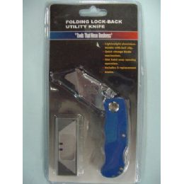 72 Units of Folding Utility Knife - Box Cutters and Blades