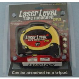 72 Units of Laser Level with 25' Tape Measure - Tape Measures and Measuring Tools