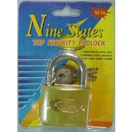 36 Units of Security Padlock - Padlocks and Combination Locks