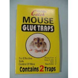 72 Units of 2pk Mouse Glue Trap - Pest Control