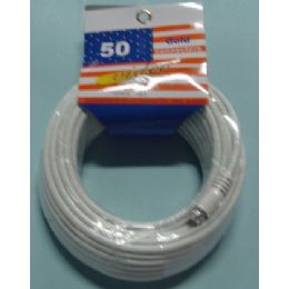 48 Units of 50ft Tv Extension Cord - Chargers & Adapters