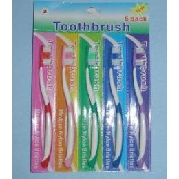144 Units of 5pcToothbrushes - Toothbrushes and Toothpaste