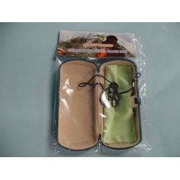 72 Units of Glasses Case with Cleaning Towel - Eyeglass & Sunglass Cases