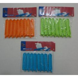 72 Units of 8pc Bag Clips - Clips and Fasteners