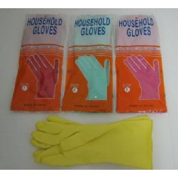 72 Units of Rubber Gloves - Kitchen Gloves