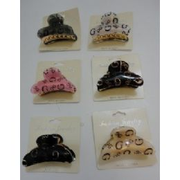 "72 Units of 2.5"" Claw Clip--""G"" - Hair Accessories"