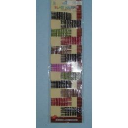 24 Units of 96pc Colored Bobby Pins - Hair Accessories