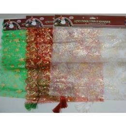 48 Units of 15x71 Christmas Table Runner - Table Cloth