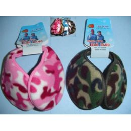 144 Units of Camo Earmuffs - Ear Warmers