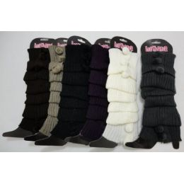 120 Units of Leg Warmers-3 PomPom - Arm & Leg Warmers