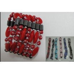 180 Units of 36 Inch Magnetic NecklacE-Large Rock Beads Bracelet - Necklace