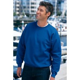 36 Units of Mens Gildan Crew Neck Sweat Shirt Irregular - Mens Sweat Shirt