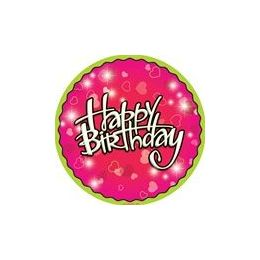 """144 Units of Birthday Love 9"""" Plate - 8ct. - Party Paper Goods"""