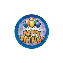 """72 Units of Birthday Balloon 9"""" Plate - 8ct. - Party Paper Goods"""