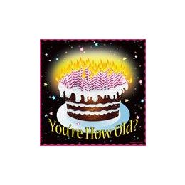 144 Units of You're How Old Luncheon Napkins - 16CT. - Party Paper Goods